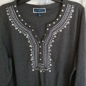 Karen Scott Tops - Karen Scott Women's T-Shirt Size 1X